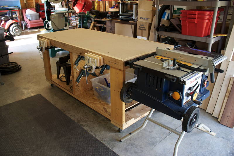 Workshop Table Saw